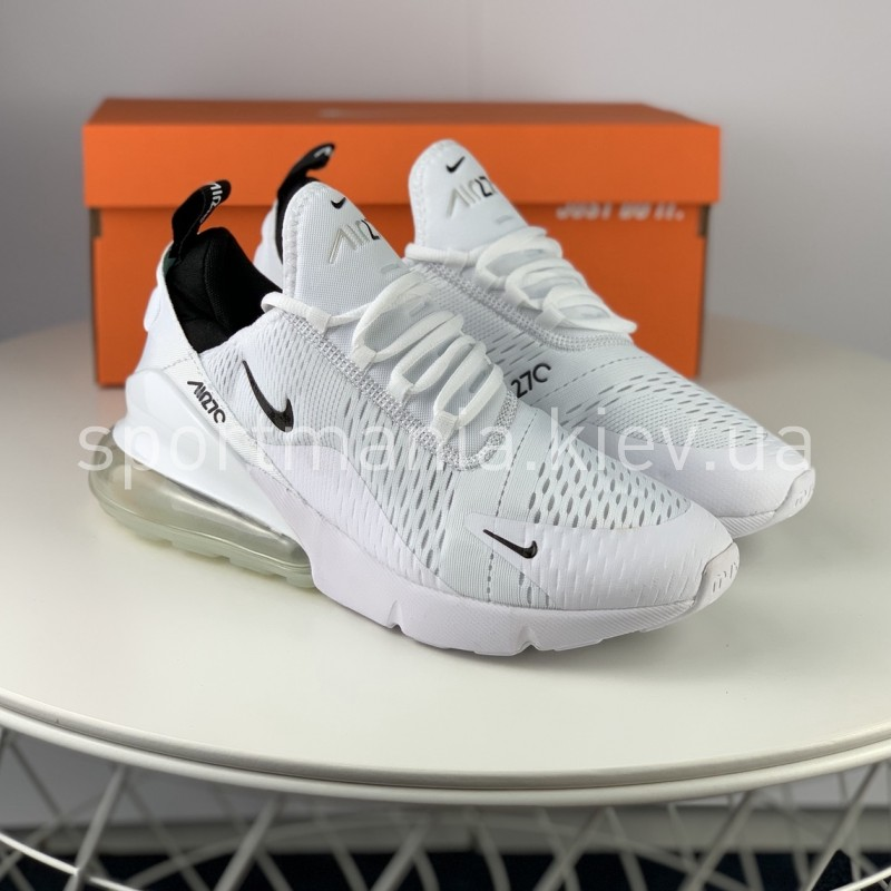 Air Max 270 White Black Men